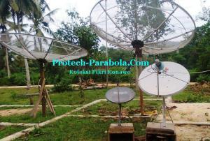 Arah Sat Aptar 6 Dish Telkomvision lokasi Konawe Sulawesi Tenggara