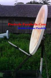Dish TelkomVision untuk Lock Intelsat 19