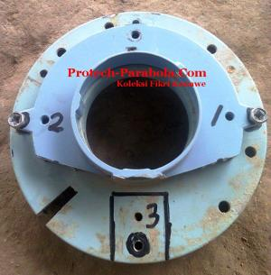 Modif Scalar Ring LNB C Band untuk Dish Indovision, TOP TV, OKVision 1