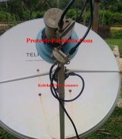 Tanpak Depan Dish TelkomVision , TransVisonuntuk Sat Apstar 6